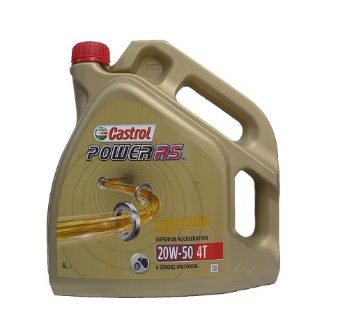 CASTROL POWER RS 4T 20W-50 4 LITERS